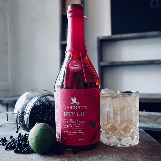 Tarquin's Strawberry Zesty Lime Gin