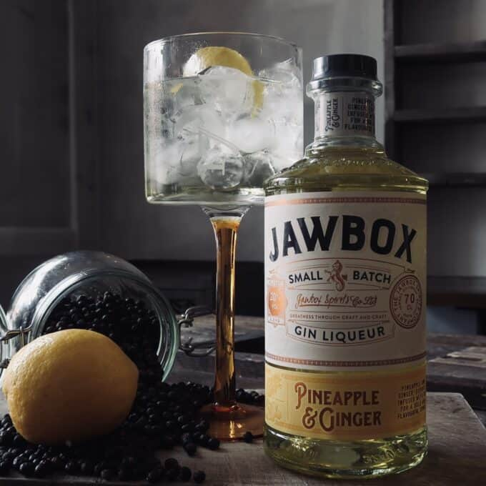 Jawbox Pineapple & Ginger Gin